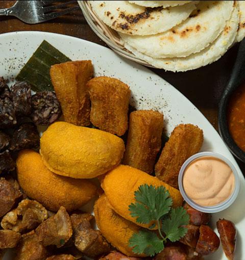 El Patio 305 - Colombian & Latin Cuisine - Bandeja Paisa - Ajiaco ...